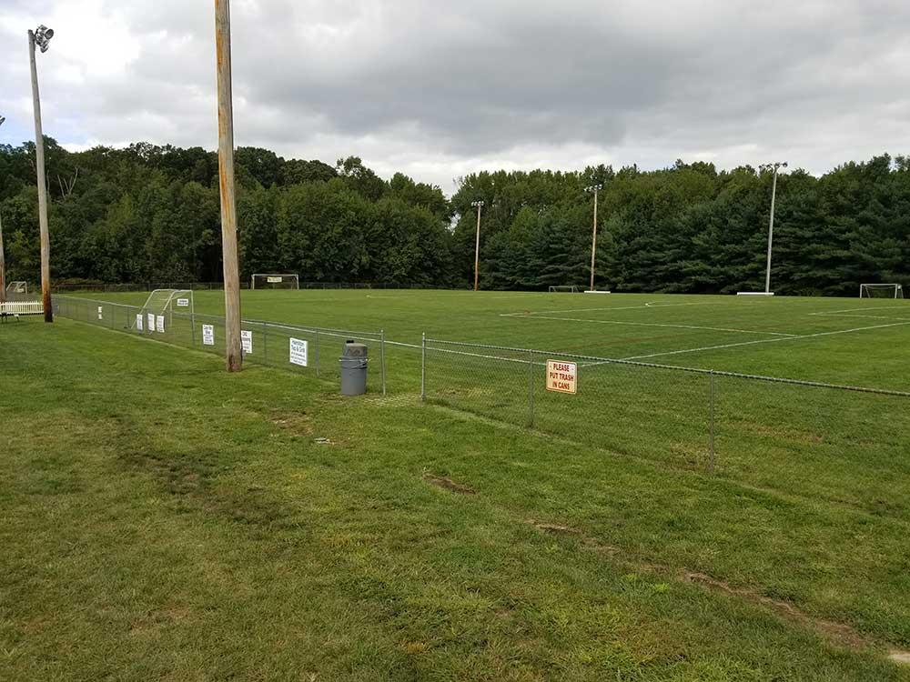 Sports Turf Maintenance Line Striping Gallery 2