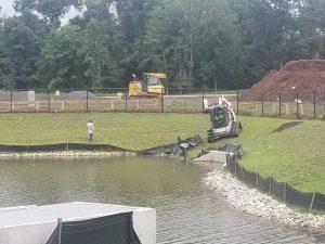 Wetland Planting & Aerator Installation Gallery 2